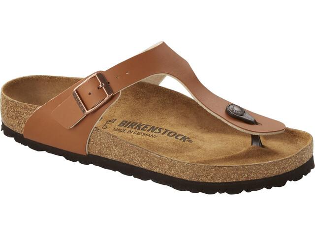Birkenstock Gizeh Soft Footbed Flips Regular, ginger brown